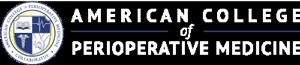 American College of Perioperative Medicine logo